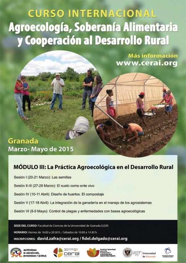 Formación en Granada: La Práctica Agroecológica en el Desarrollo Rural