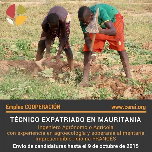 oferta empleo Mauritania