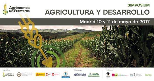 """CERAI participará en el simposio """"Agricultura y Desarrollo"""" en Madrid"""