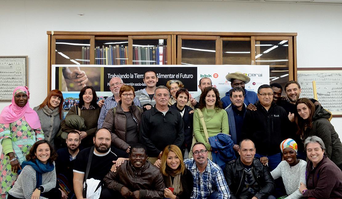 Un proyecto de CERAI impulsa los huertos sociales y ecológicos en Valencia