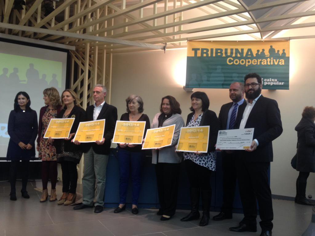 CERAI recibe el premio Ahorro Solidario de Caixa Popular