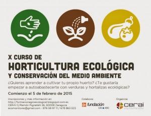 Curso agroecología y medio ambiente