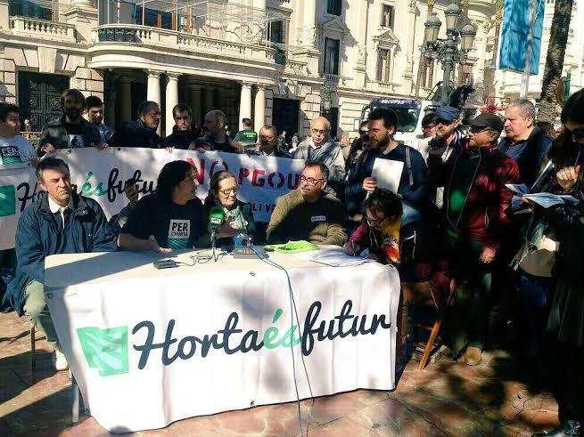 Presentadas más de 15.000 alegaciones contra el PGOU que pretende destruir la huerta valenciana