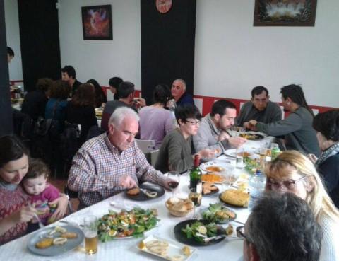 Comida de convivencia tras la asamblea de Socios de CERAI Aragón