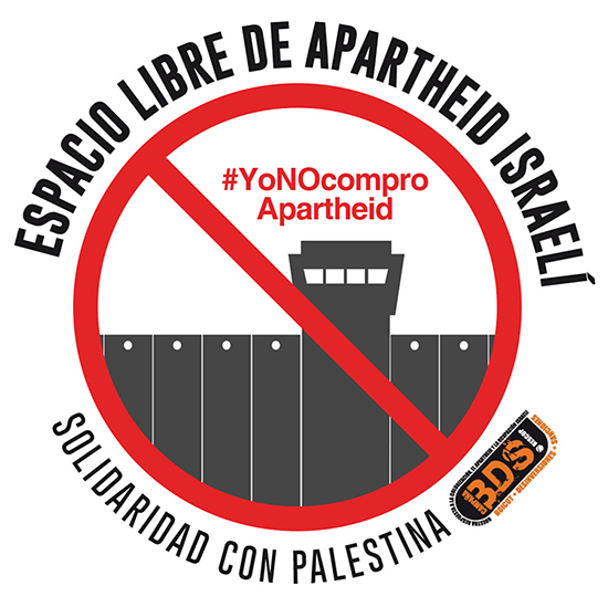 Únete a la campaña Sello ELAI (Espacio Libre de Apartheid Israelí)