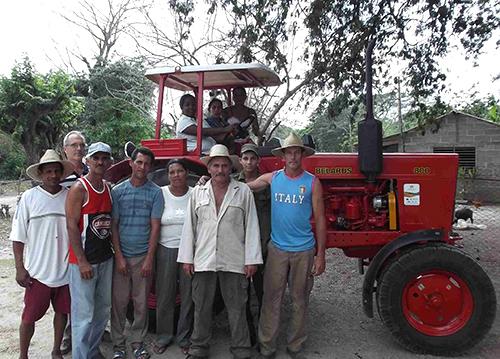 agricultores Cuba