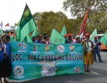 marcha campesinos