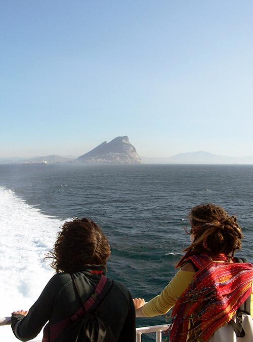 viajando en ferry