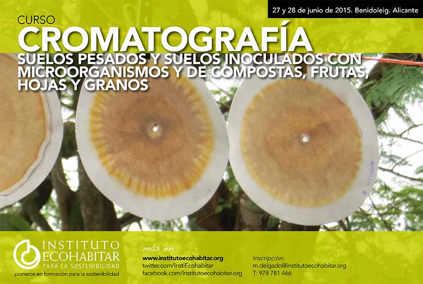 Curso sobre Cromatografía del suelo del Instituto Ecohabitar