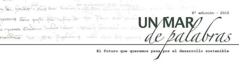 8ª edición del Concurso literario 'Un mar de palabras'