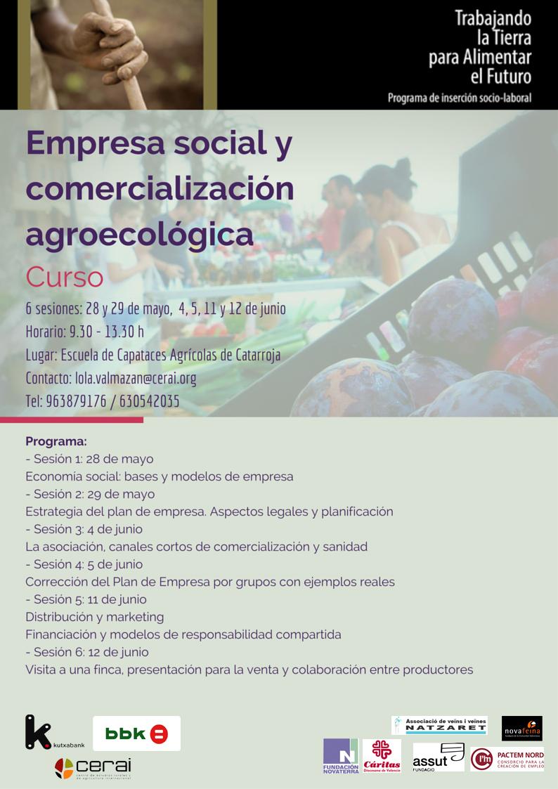 curso empresa social y comercialización