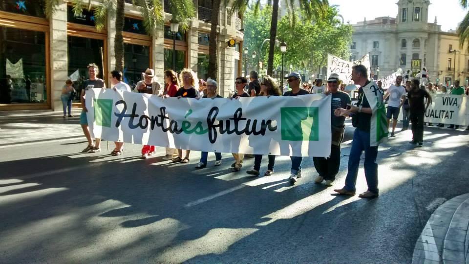 Éxito de la fiesta-manifestación de la ciudadanía en favor de la huerta
