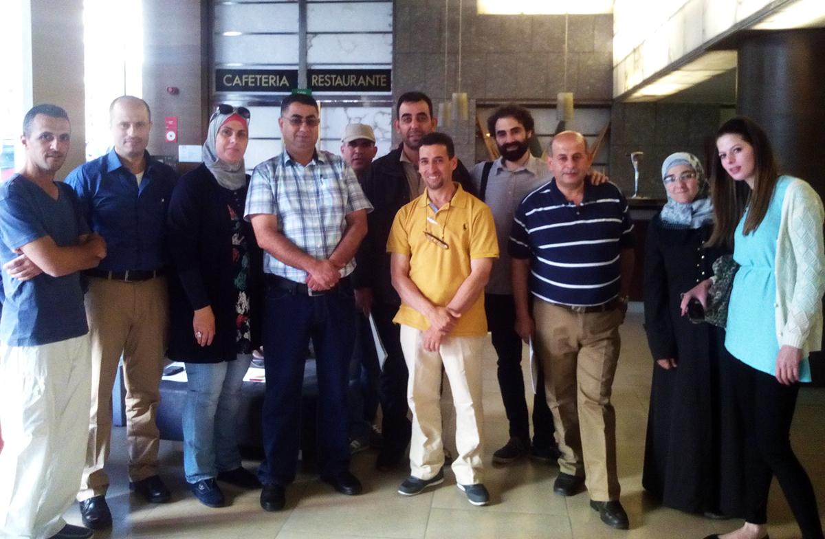 Especialistas palestinos visitan Valencia para conocer prácticas agrícolas adaptadas al cambio climático