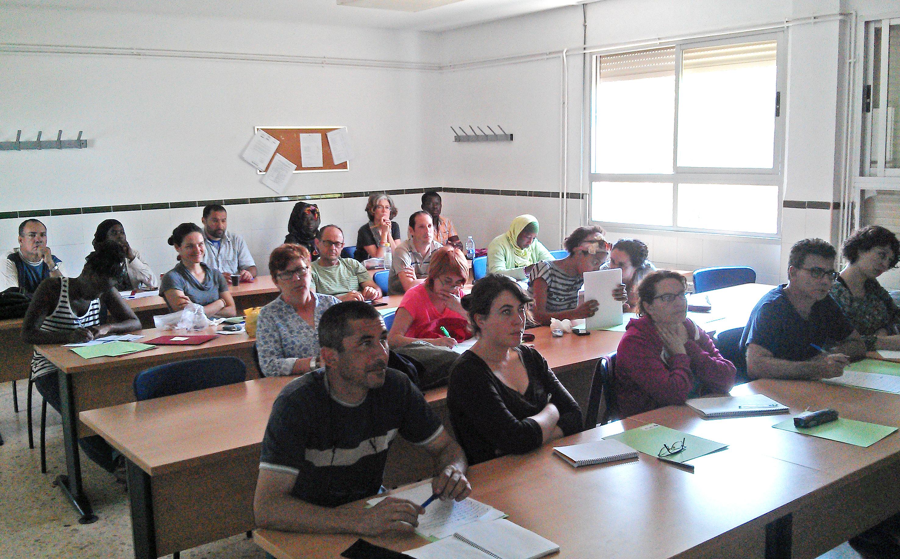 Estamos impartiendo el curso 'Empresa Social y comercialización agroecológica'