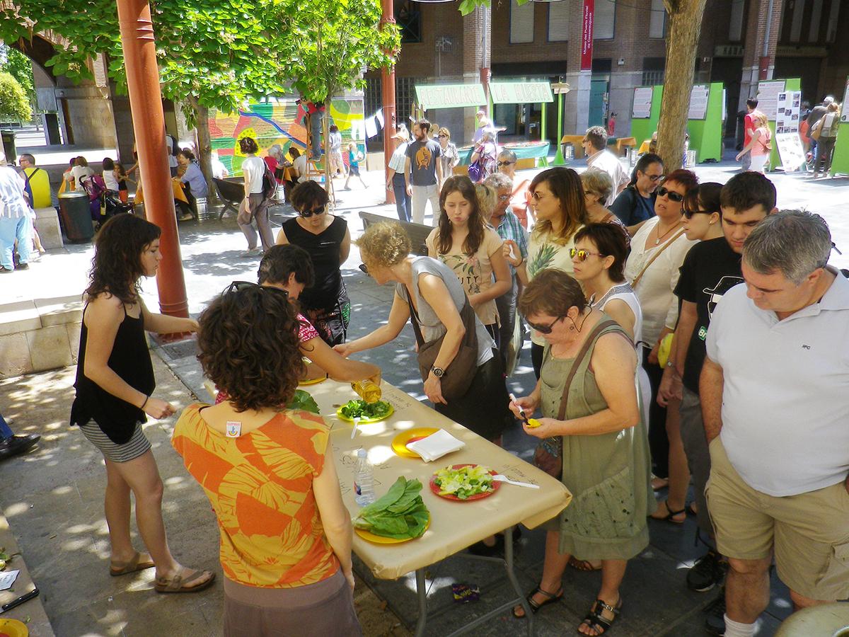 Se celebró con gran éxito de público la Fiesta de la Huerta Zaragozana