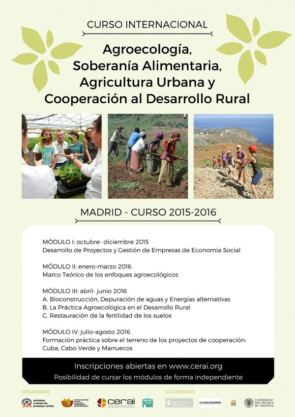 Cartel Curso Madrid 2015-2016