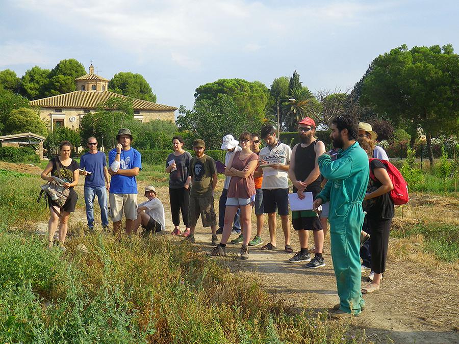 Ha empezado la 2ª edición de la Escuela Agrícola Verde Km0 en Zaragoza