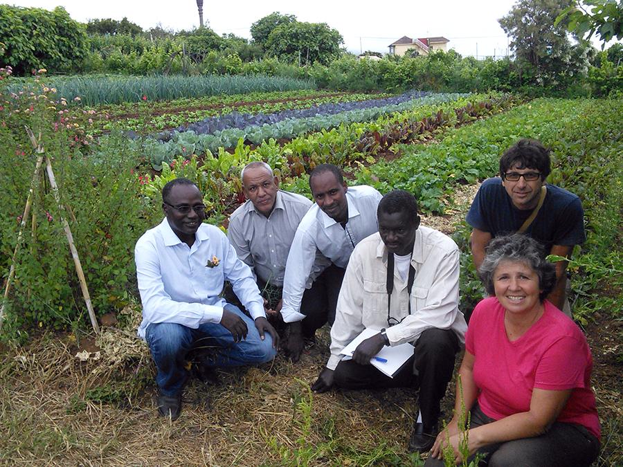 Técnicos de Mauritania visitan distintas experiencias agroecológicas en Canarias
