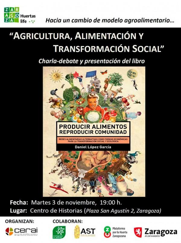 Charla 'Agricultura, Alimentación y Transformación Social'