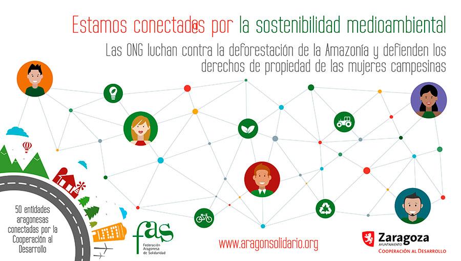 Estamos conectad@s por la sostenibilidad medioambiental