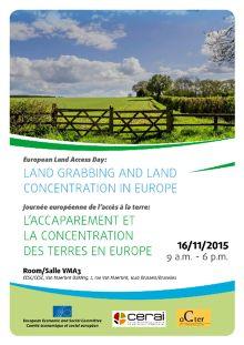 El acaparamiento y la concentración de tierras en Europa
