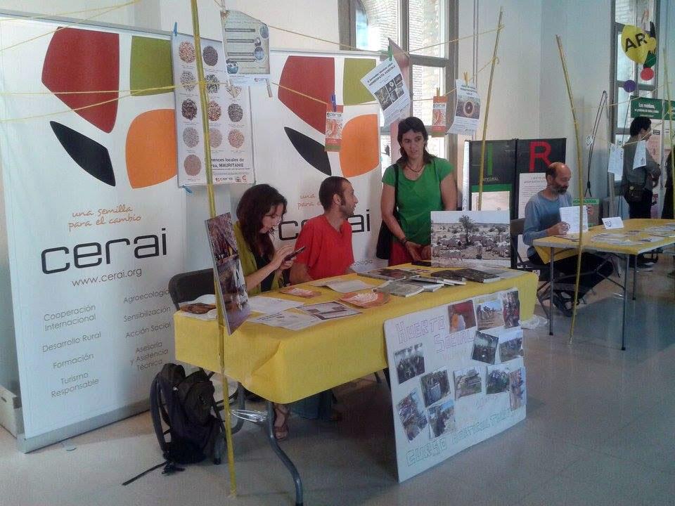 CERAI participó en la VI Feria del Mercado Social de Aragón