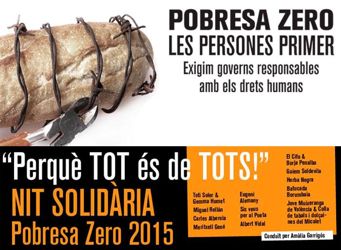 Actos de la Semana contra la Pobreza en la Comunitat Valenciana