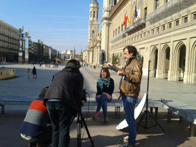 entrevista a Teresa Artigas, Ayuntamiento de Zaragoza