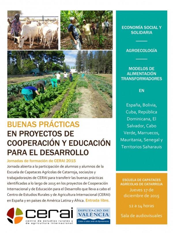 Buenas prácticas en proyectos de Cooperación y de Educación para el Desarrollo