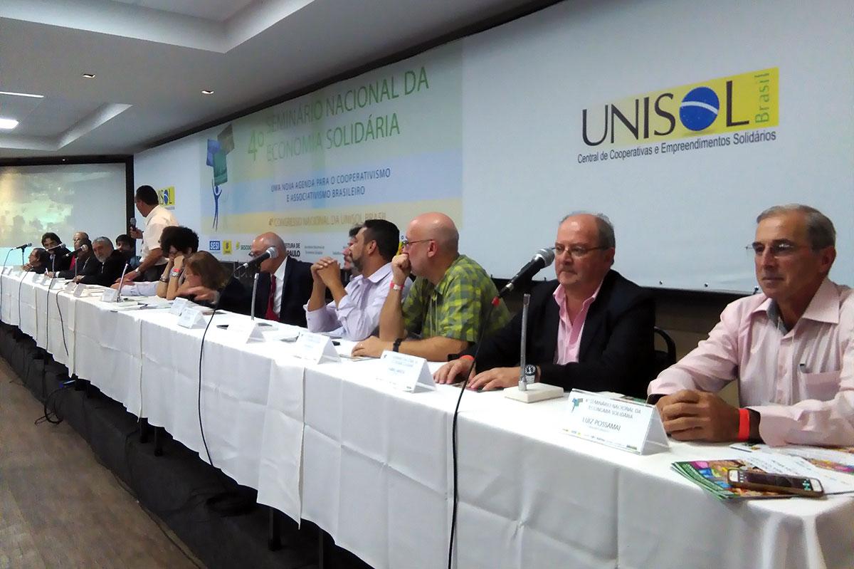 CERAI participa en un Seminario internacional de Economía Solidaria y en el IV Congreso de UNISOL Brasil