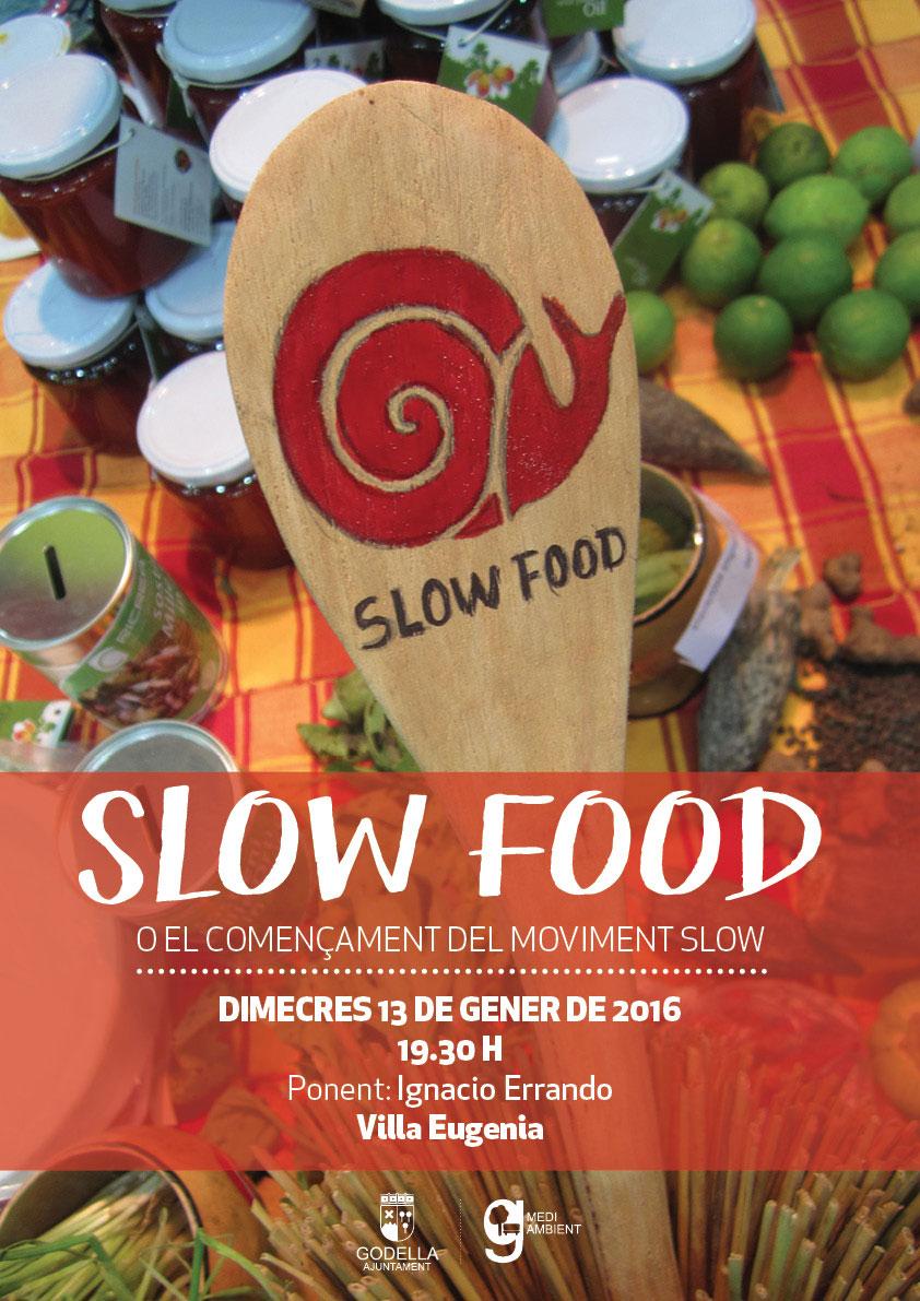 Charla sobre el movimiento Slow Food en Valencia