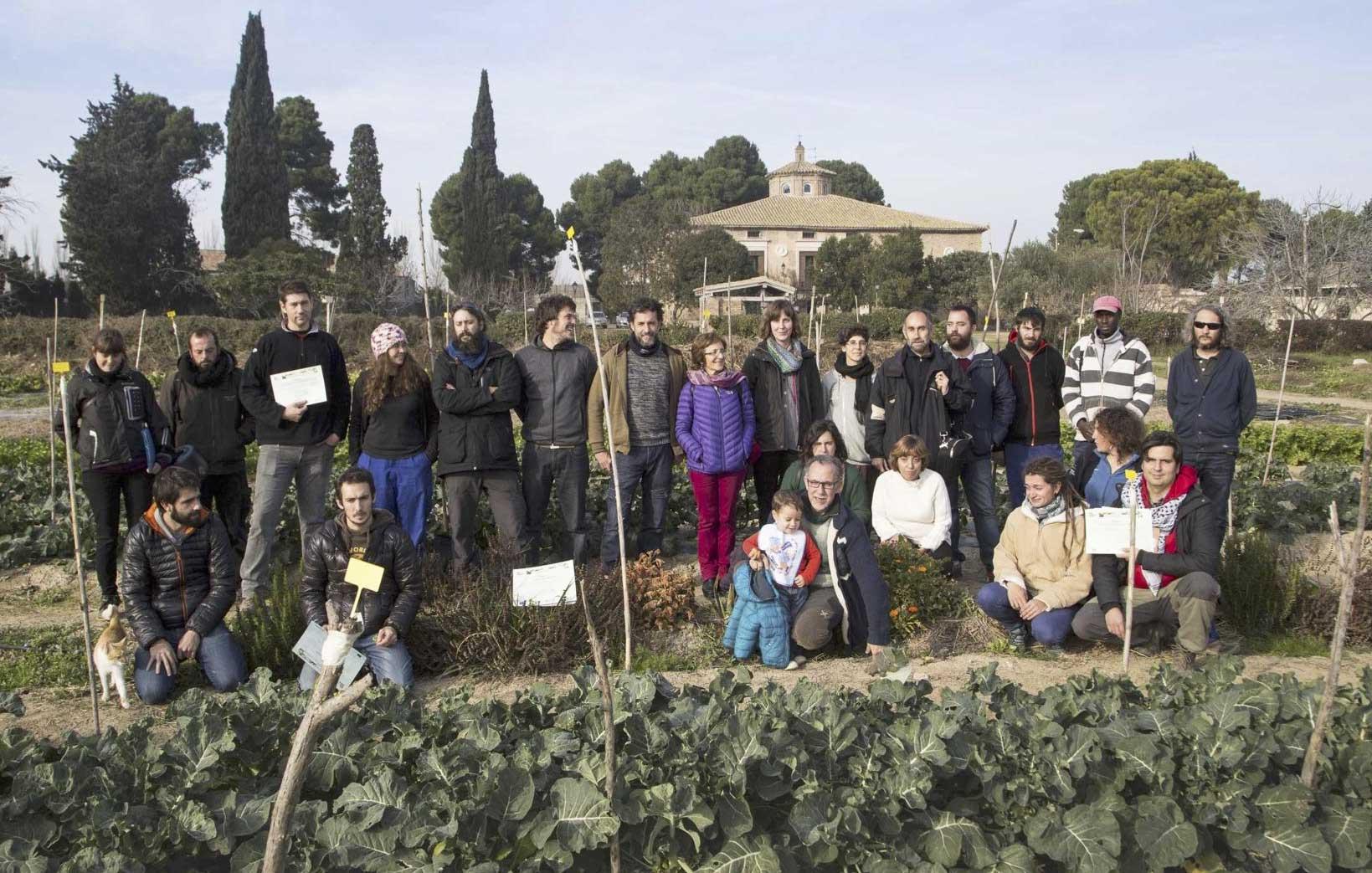 Se ha clausurado la II edición de la Escuela Agrícola Verde km 0 en Zaragoza