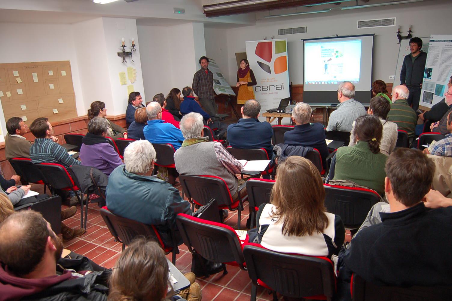 Se celebraron con éxito las Jornadas de Experimentación y Transferencia Agroecológica de CERAI Aragón