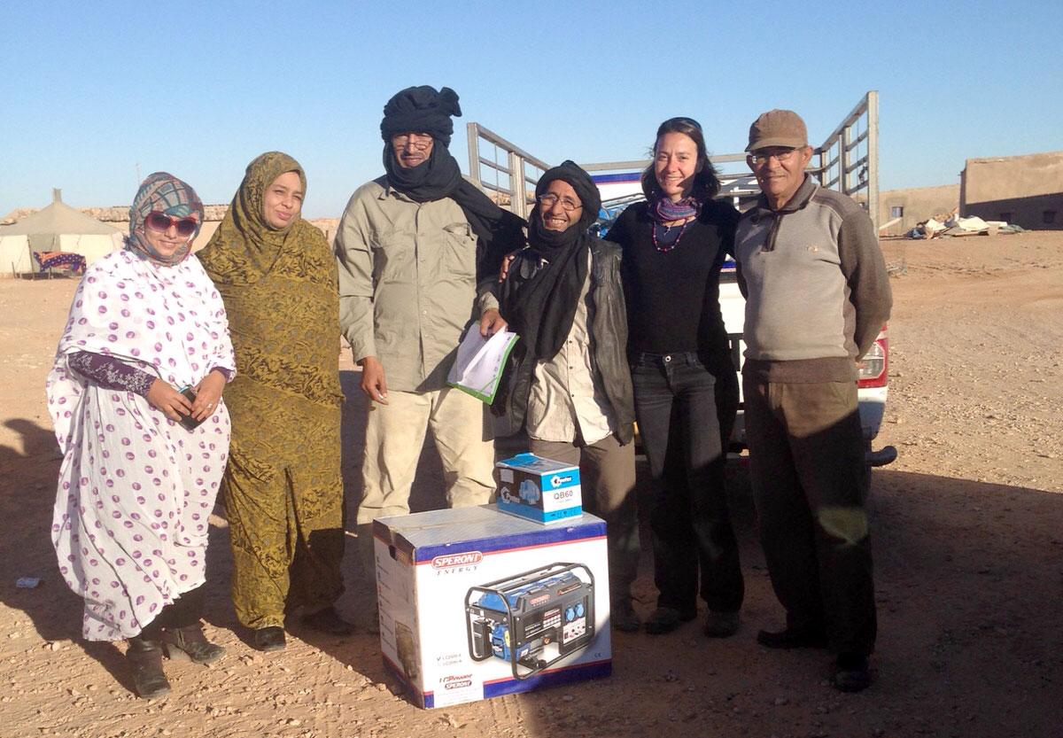 Se ponen en marcha 25 nuevos huertos familiares en los campamentos de refugiados saharauis