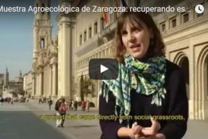muestra agroecológica zaragoza video