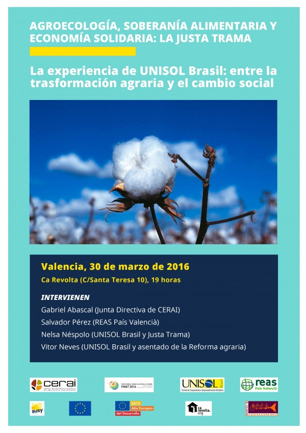 Agroecología, Soberanía Alimentaria y Economía Solidaria: La Justa Trama