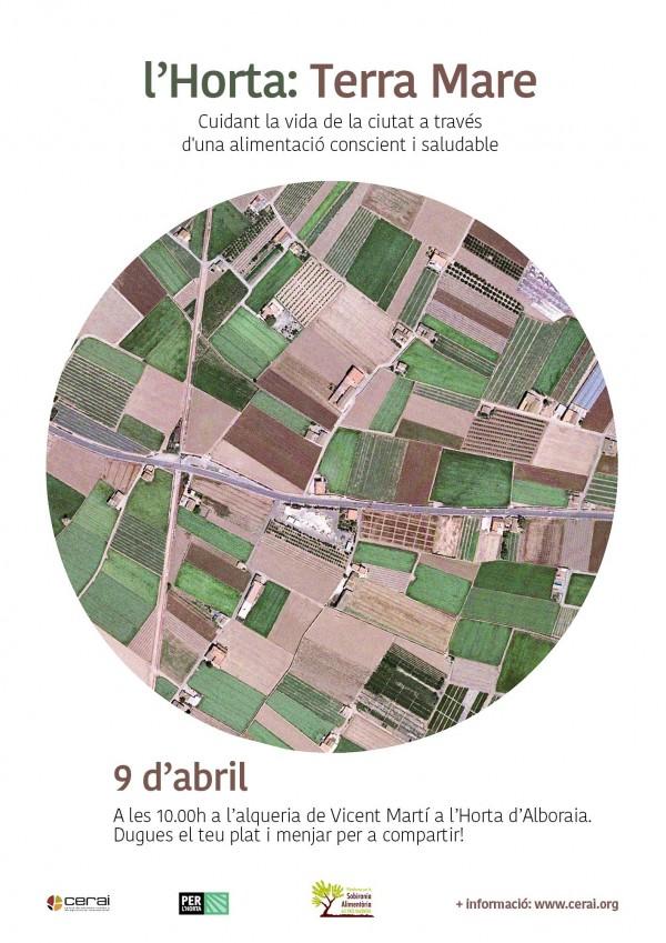 L'Horta: Terra Mare. Cuidant la vida de la ciutat a través d'una alimentació conscient i saludable