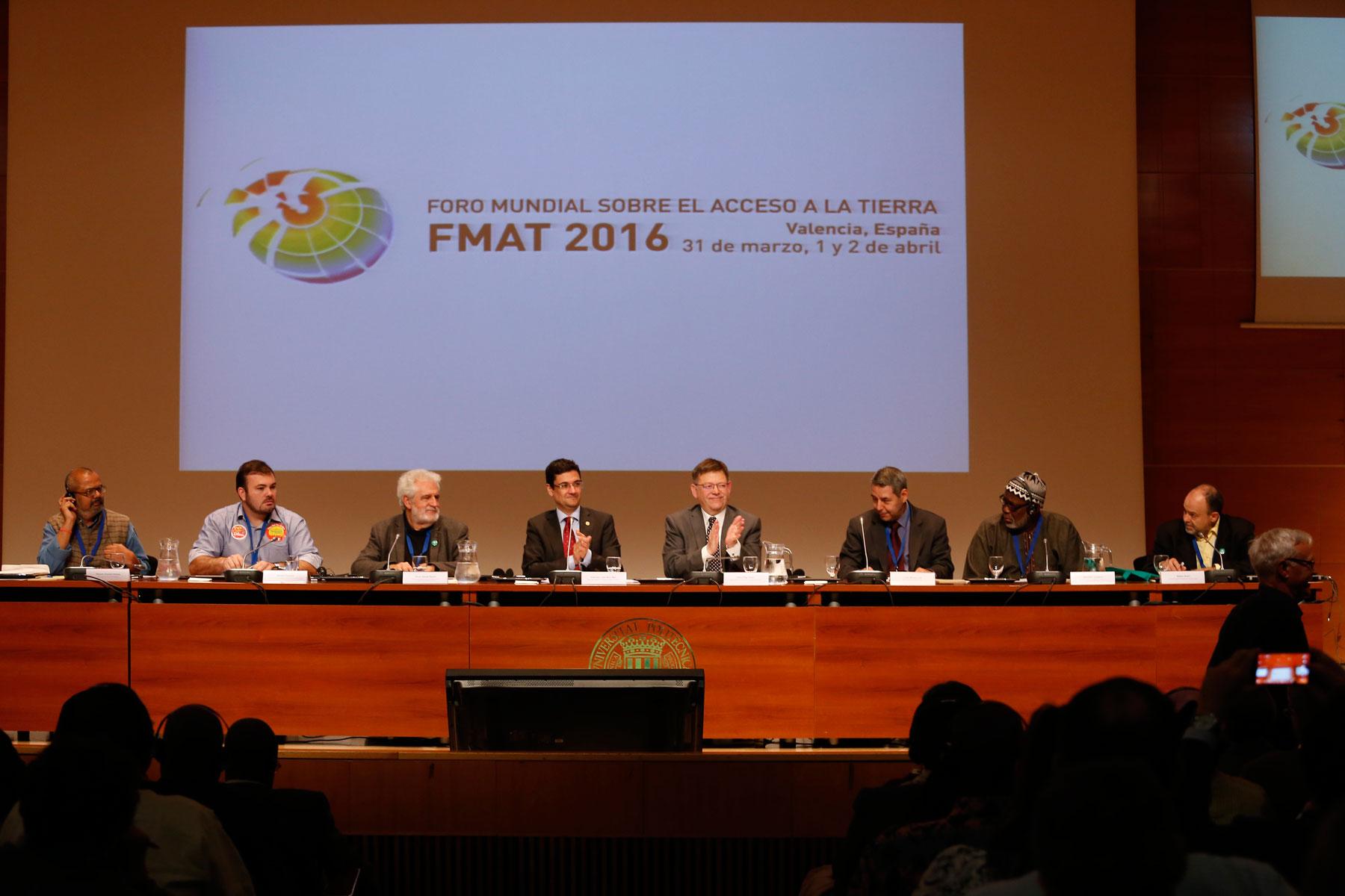 Se ha iniciado en Valencia el Foro Mundial sobre el Acceso a la Tierra con 400 participantes