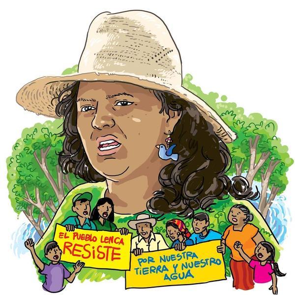 """En memoria de Berta Cáceres: """"Me lo dijo el río…"""""""