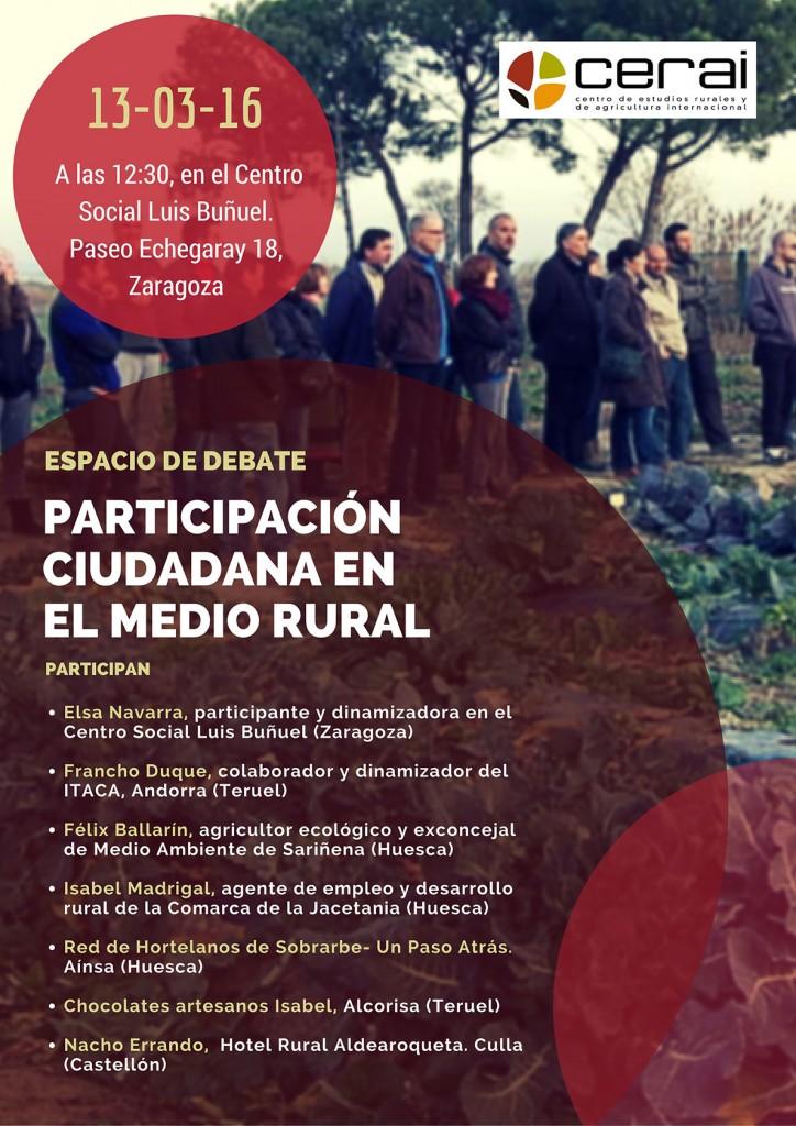 cartel-debate-Participación-Ciudadana-Medio-Rural