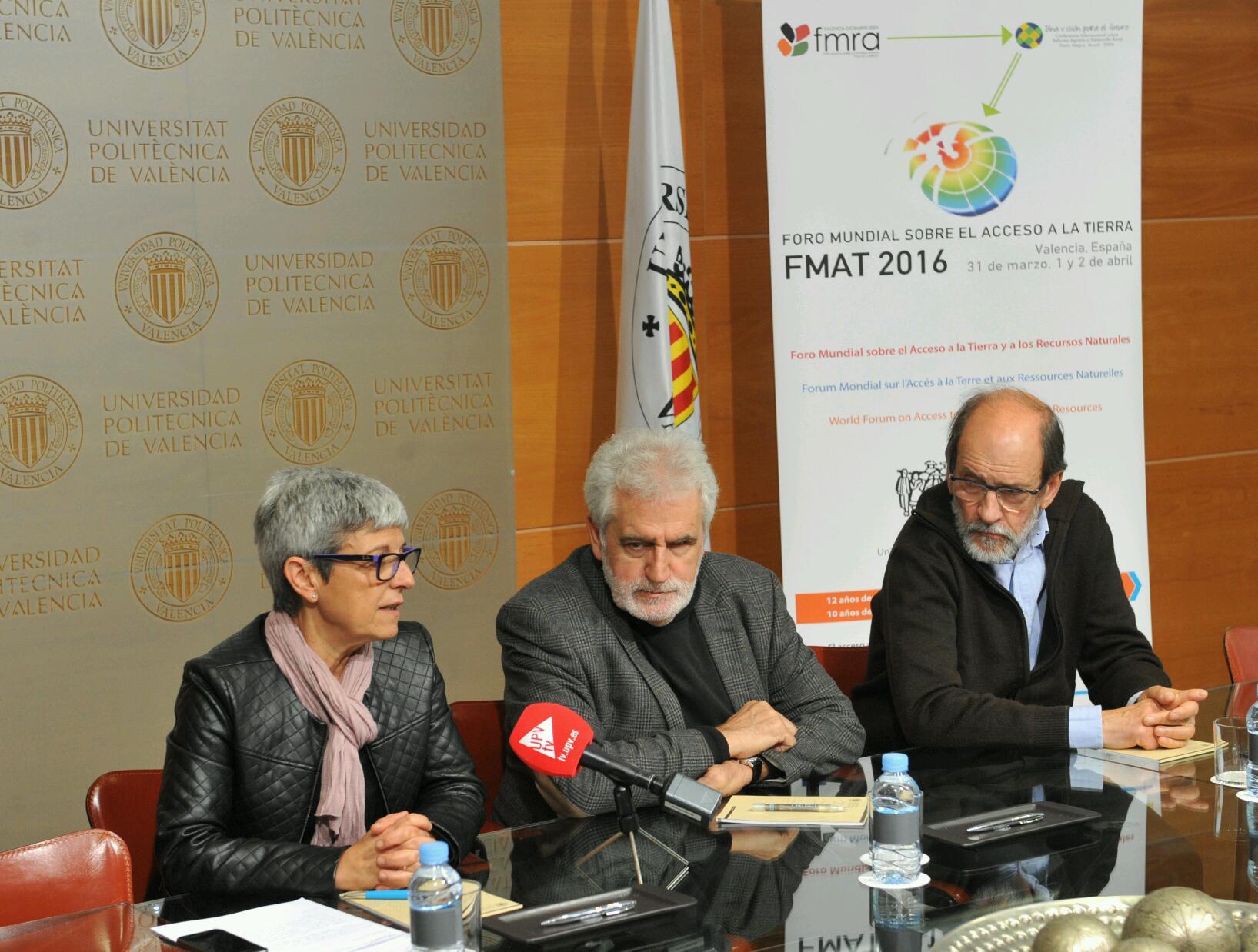 Del 31 de marzo al 2 de abril se celebrará en Valencia el Foro Mundial sobre el Acceso a la Tierra