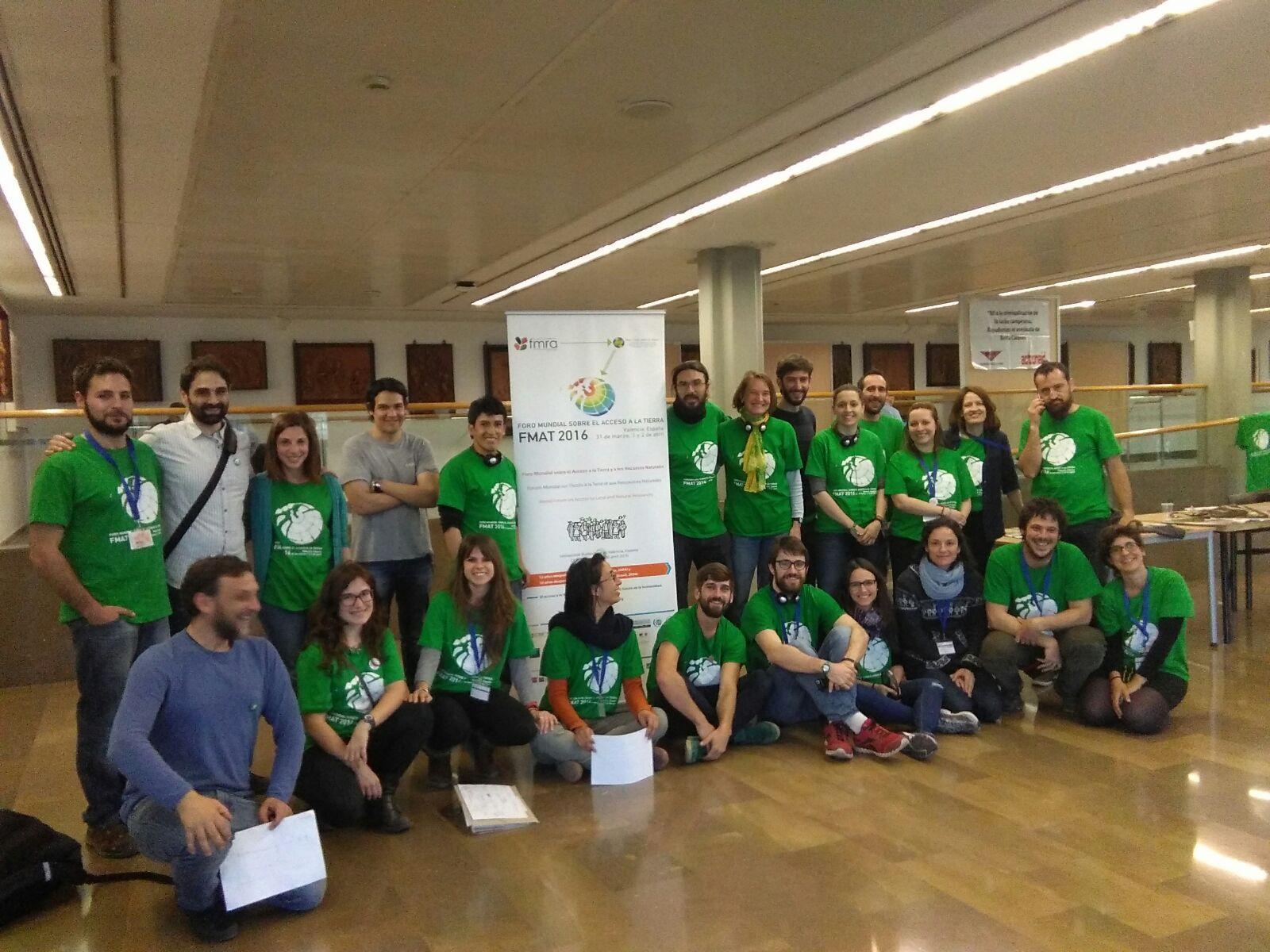 Gran equipo de voluntarios y voluntarias han hecho posible el FMAT 2016