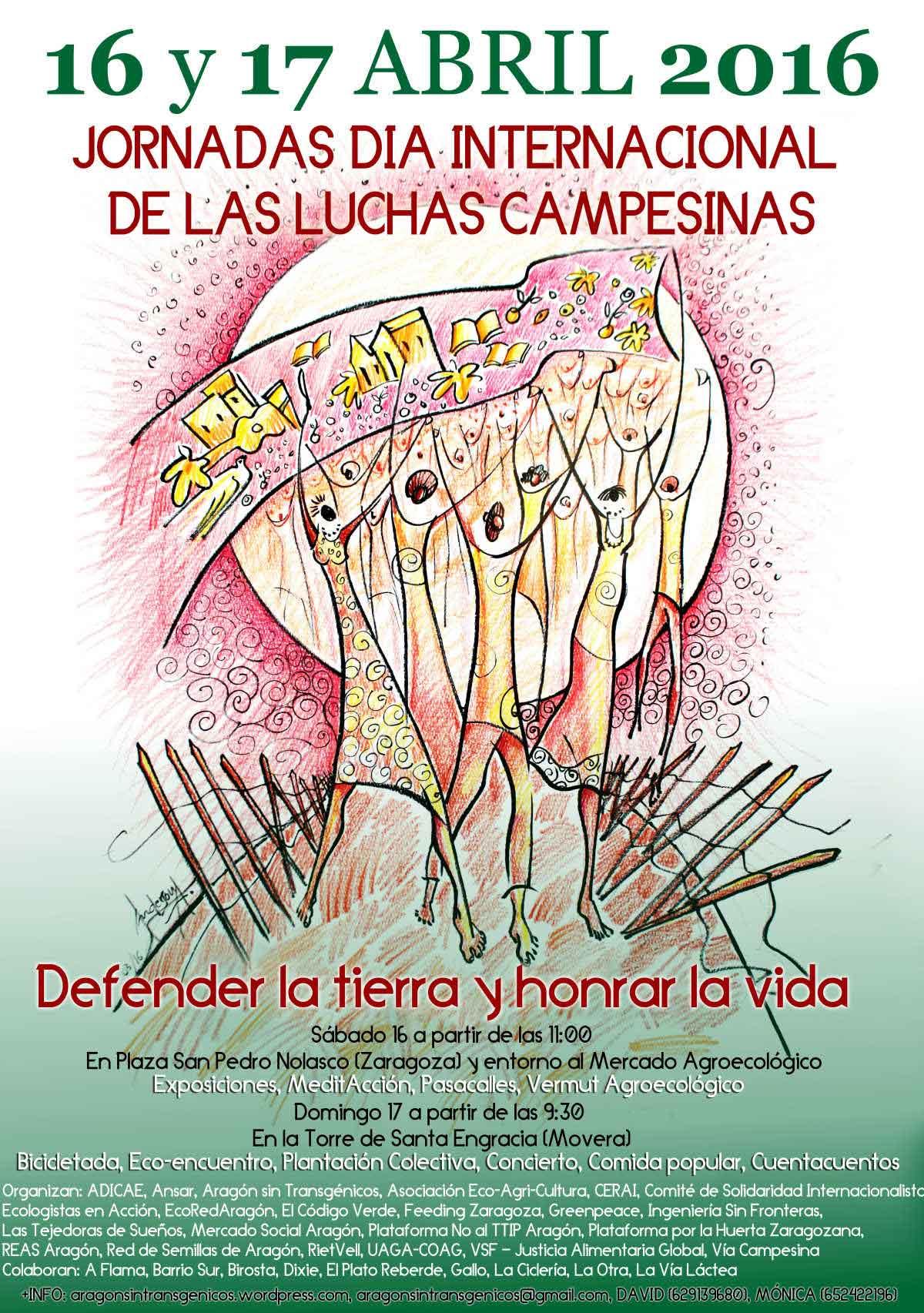 Jornadas de la Lucha Campesina en Aragón