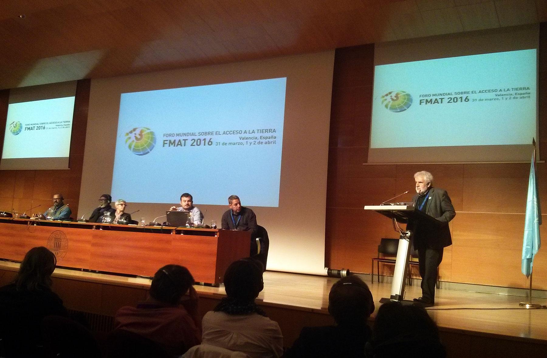 Síntesis final del Foro Mundial sobre el Acceso a la Tierra y los Recursos Naturales