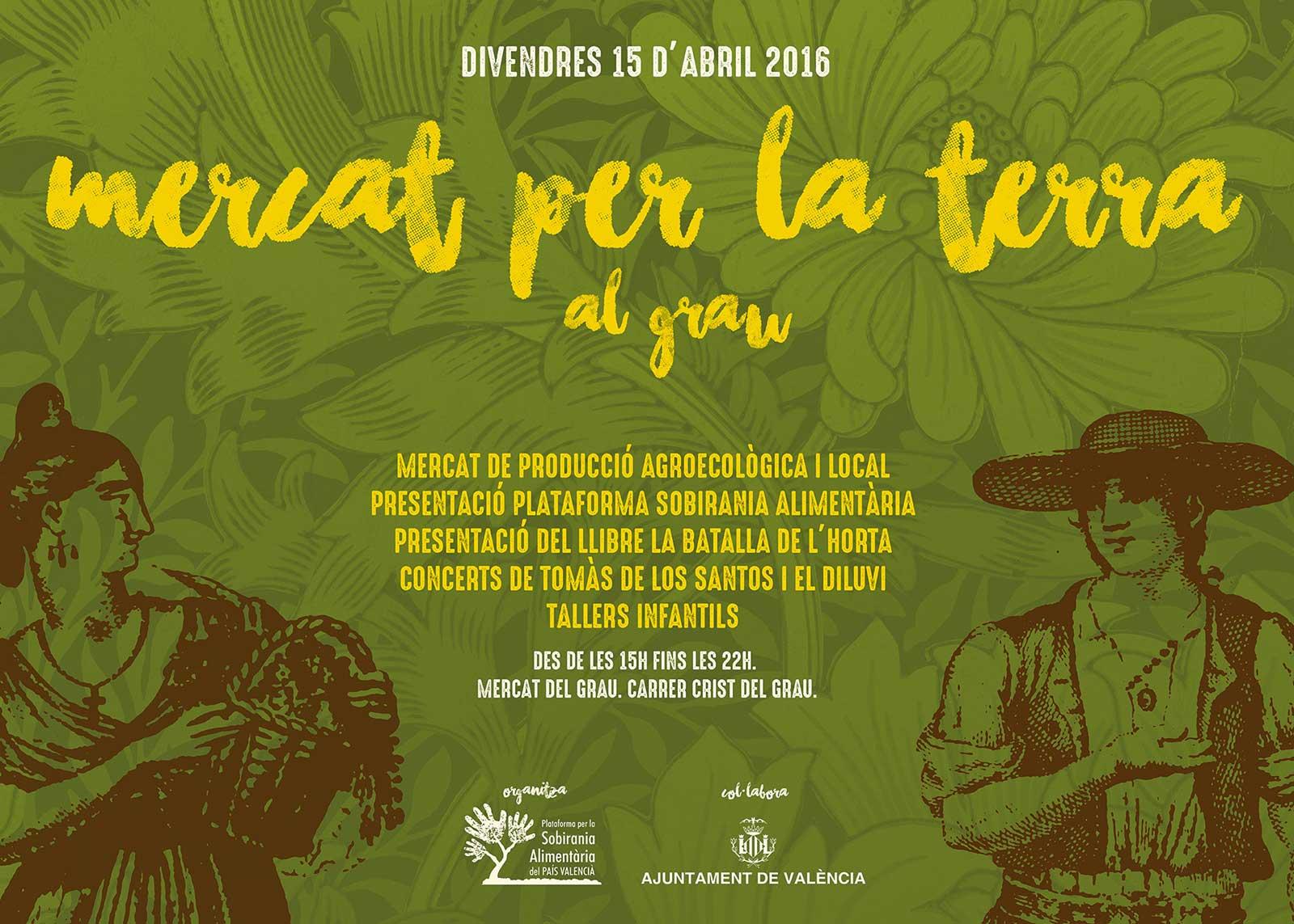 Mercat per la Terra al Grau de València