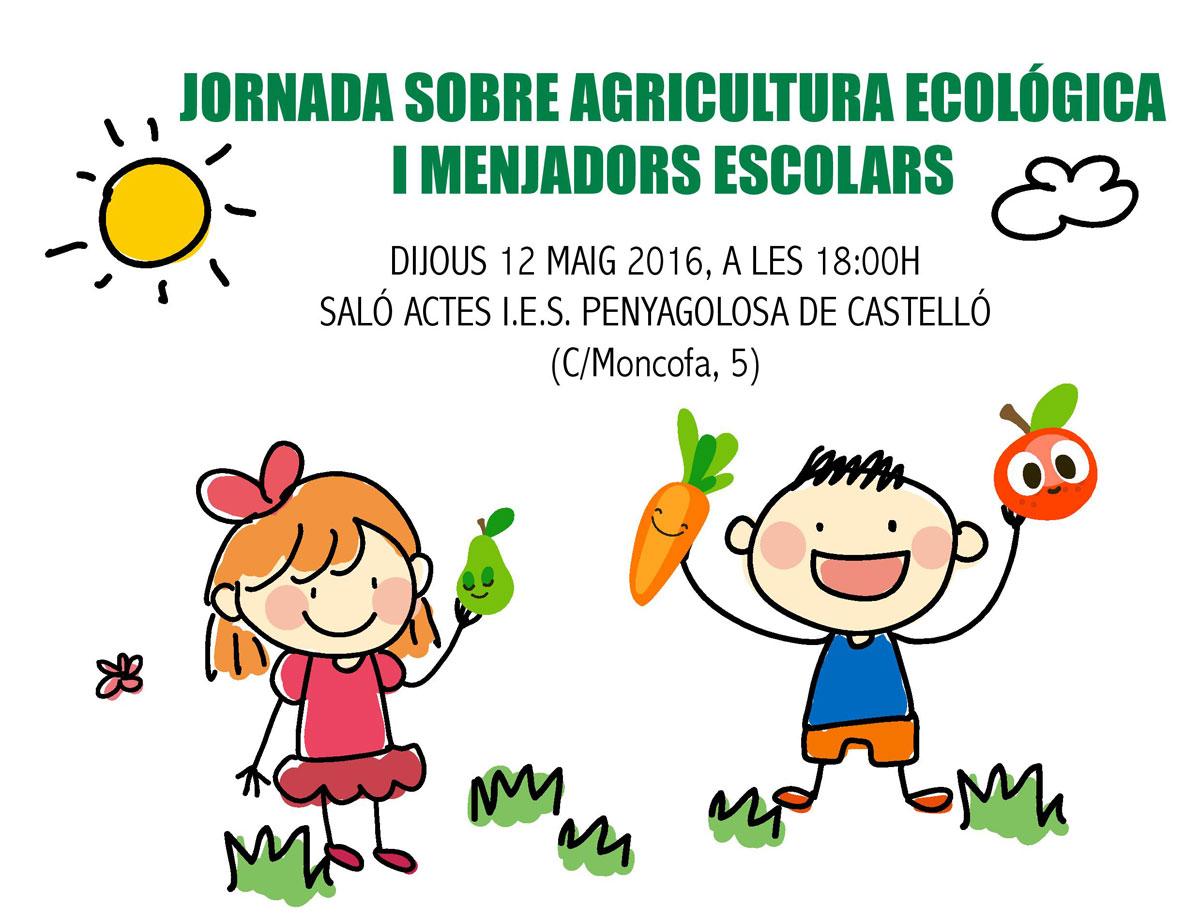 Jornada sobre Agricultura Ecológica y Comedores Escolares
