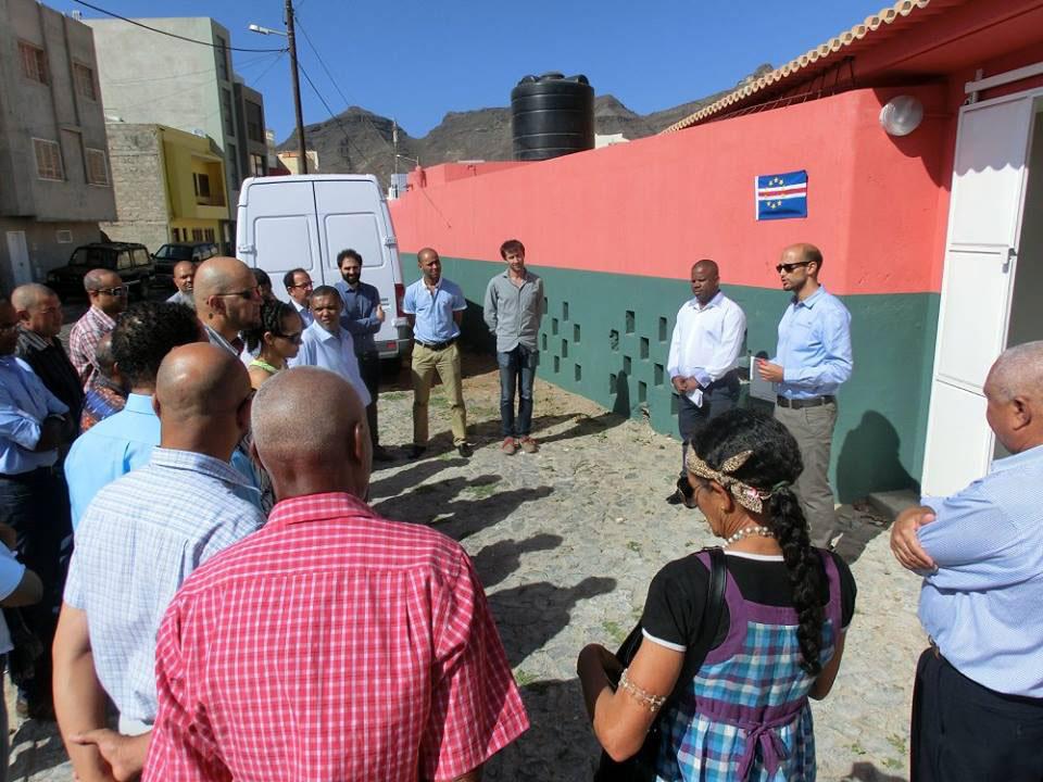 El proyecto de abastecimiento local de comedores escolares en Cabo Verde pone en marcha un centro poscosecha