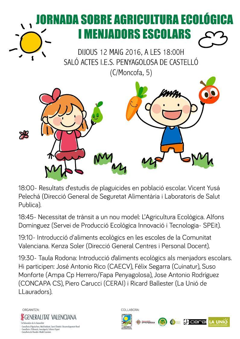 Jornada Sobre Agricultura Ecol Gica Y Comedores Escolares