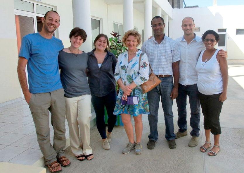 El Partido Verde Europeo visita el proyecto de promoción del Turismo Solidario en Cabo Verde