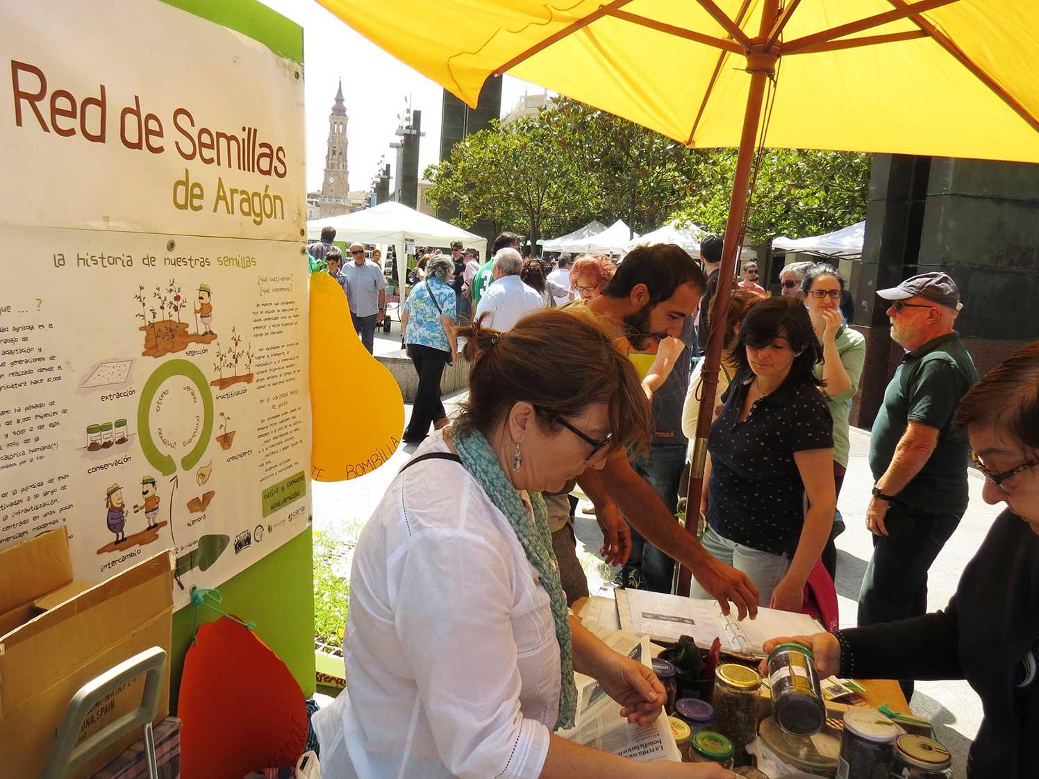 Más de 2000 personas participaron en la II Fiesta de la Huerta Zaragozana
